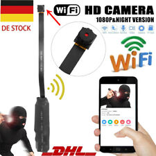 1080P Mini HD WIFI Kamera versteckt Überwachungskamera Spion Spycam Video