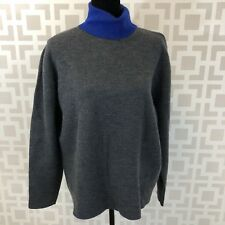 Lacoste Sweater Gray Oversized Long Sleeve Turtleneck AH7316 Womens XL 7