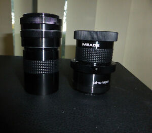 Meade Photoape x 2 T-PS  Nice condition  camera
