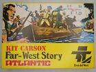 Kit Carson Far-West Story HO Vintage Model Kit Atlantic #1008 - Mint In Box