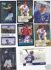 MAT GAMEL BREWERS SIGNED 2007 JUST MINORS ROOKIE IP
