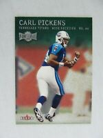 Carl Pickens Tennessee Titans 2000 Fleer Metal Football Card 154