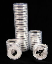 2014 Box of 100 Australian 1/2 Oz Fine Silver 999 Bullion BU Horse Mint Coin