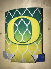 NCAA Oregon Ducks Collapsible Koozie Women's Two Tone Green And Yellow
