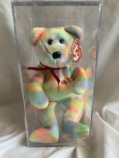 TY Beanie Baby BIDDER The Ty Ebay Mastercard Bear 4980 Authenticated 12th gen
