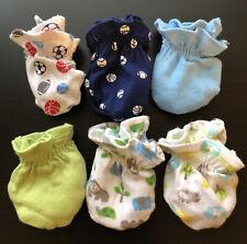 NEWBORN BABY 6-Pack Cotton Mittens