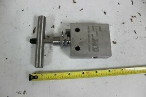 Butech SEPV61V-PM Needle Valve 15,000 Psi Stainless Steel New
