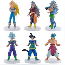 Dragon ball anime figure figures PVC SET OF 6PCS toys toy YT59 AUCTION NEW
