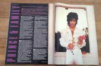 PRINCE and 'family UK magazine 1984