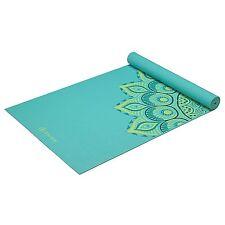 Gaiam Premium Print Yoga Mat, Capri, 6mm