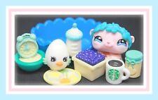 ❤️Authentic Littlest Pet Shop LPS #2446 VHTF BLIND BAG Baby Hamster w/ TIARA❤️
