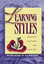 Learning Styles by Marlene LeFever (1995, Paperback, New Edition)