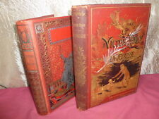 LOT CARTONNAGE illustrés  VICTOR HUGO / Ernest D'Hervilly,