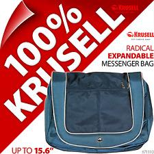 "NUOVO KRUSELL 15,6 ""ESPANDIBILE Laptop Notebook Spalla / Messenger Bag Case Strap"
