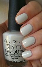 OPI Spiderman MY BOYFRIEND SCALES WALLS White Grey Gray Nail Polish Lacquer M37