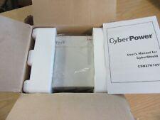 Cyberpower CSN27U12V-NA2 CyberShield DC PS 12V, 27W, 7.2A Battery