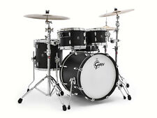 Gretsch Renown 4pc Groove Drum Set Satin Black - RN1-E604-SB