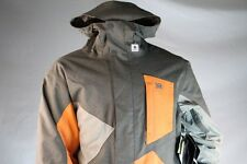 "DC SHOES MENS GRAY ""WISHBONE 14"" SNOW JACKET RELAXED FIT WATERPROOF Size Medium"