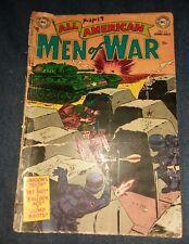 All American Men of War (1952) #11 dc comics FR 1.0 golden age propaganda cover