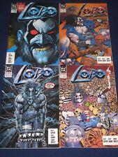 Lobo 1-4 (1990) Lobo's Back 1-4, Lobo Infanticide 1-4, DC Comics