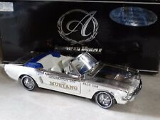 Ertl American Muscle Authentics 1964 1/2 Ford Mustang Indy Pace Car 1:18 Diecast