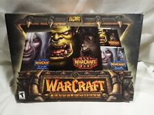WarCraft III Battle Chest (PC, 2003) Complete big box, fast shipping
