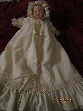 New Doll Porcelain head hands feet body is cloth, hand made w/glass eyes