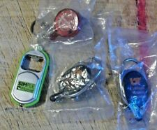 UT GRADUATE MEDICAL EDUCATION, SIMPLE MOBILE, & MERCY HOSPICE KEY CHAIN LOT
