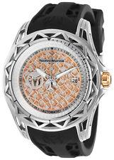 TechnoMarine Men's Technocell TM-318012 47mm Silver Dial Silicone Watch
