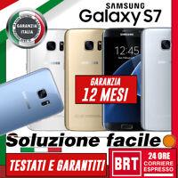 *SMARTPHONE SAMSUNG GALAXY S7 32GB SM-G930 12 MESI GARANZIA! G930V G930F_BRT 24H