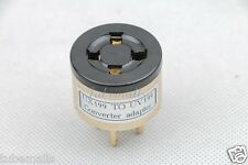 1piece*Gold plated UX199(UX4) TO UV199(UV4)tube converter adapter