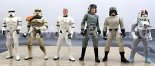"Star Wars PotF ATST ATAT Driver Commander Sandtrooper Stormtrooper Luke 3.75"""