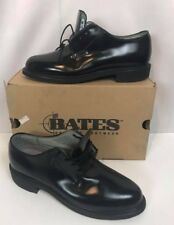 Bates Womens 10 M Marching USA Made Black Leather Uniform Shoes FREE US SHIPPING