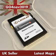 LEXUS CT TomTom Navigation SD Card WESTERN EUROPE PZ49Y-ZW331-00 2019 - 2020