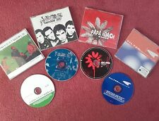 4x PROMO CD SINGLES By Filter,Papa Roach,3 Colours Red & Jimmy Eat World  VGC