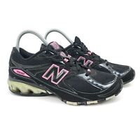 New Balance 7500 Womens Size 8.5 Black Pink Running Athletic Shoes WR7500BP