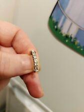 BEAUTIFUL LITTLE 5 DIAMOND 18 Carat Yellow  Gold ETERNITY RING.