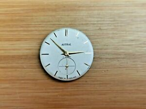 Quality Vintage Smiths Astral 15 Jewels Mens Watch Movement, Good Balance