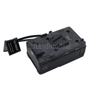 CCTECH CFSSD CFast 2.0 to SSD Blackmagic URSA Mini Broadcast + V-Mount Plate os1