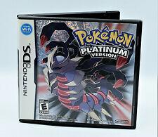 Pokemon Platinum Verison - Nintendo DS In Case