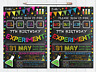 10 Personalised Science Birthday Party Invites Invitations Boy Girl Inc Envs