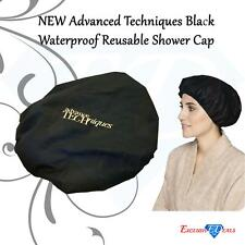 Black Waterproof Reusable Shower Cap Super High Quality - Limited Stock