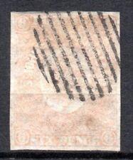 Newfoundland: 1862 QVI 6d SG 20 used