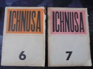 ICHNUSA Rivista bimestrale della Sardegna - n. 6 e n. 7 - 1951 Letteratura Arte