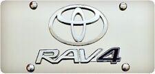TOYOTA RAV 4 3D Novelty Plate - Stainless Steel