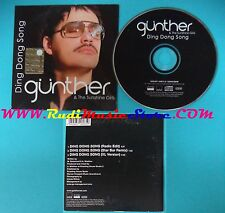 CD Singolo Günther & The Sunshine Girls Ding Dong Song EUROPE 04 CARDSLEEVE(S25)