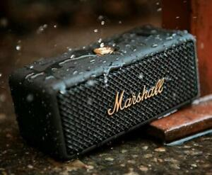 Speaker mini bluetooth wireless black marshall emberton altoparlante portatile