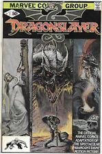 Dragonslayer #1 (Marvel, 1981), Vf+/Nm-