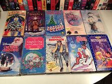 Christmas Holiday Lot 10 VHS Spunky Madeline Dot Santa Claus Hans Brinker