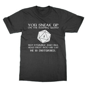 Critical Fail Dungeons and Dragons t-shirt funny nerd tee dnd rpg present gift